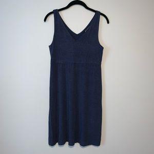 Athleta Santorini V Neck Solid Dress small